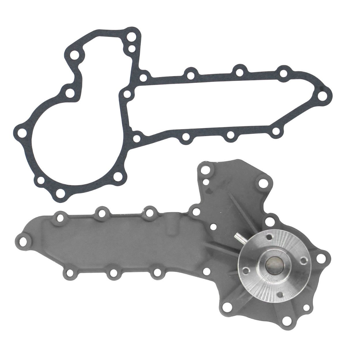 Water Pump 80503180 Compatible with Case Skid Steer Loader 1838