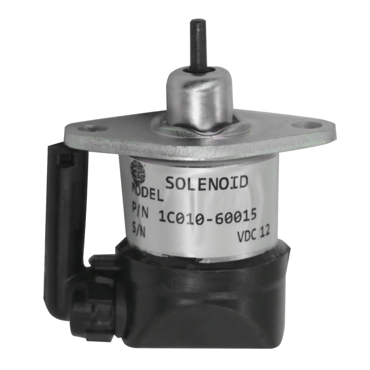 Cut Down Solenoid 32721-60012 12V Compatible with Kubota Engine RTV1140CPX RTV1140CPXR