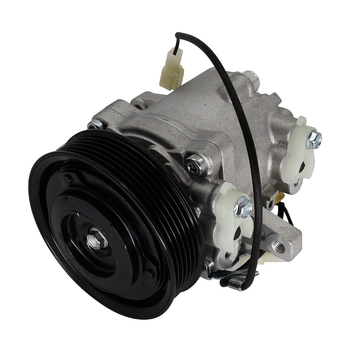 Air Conditioning Compressor 6 Groove 12V 3P999-00620 Compatible with Kubota M135GX M136 SV07E