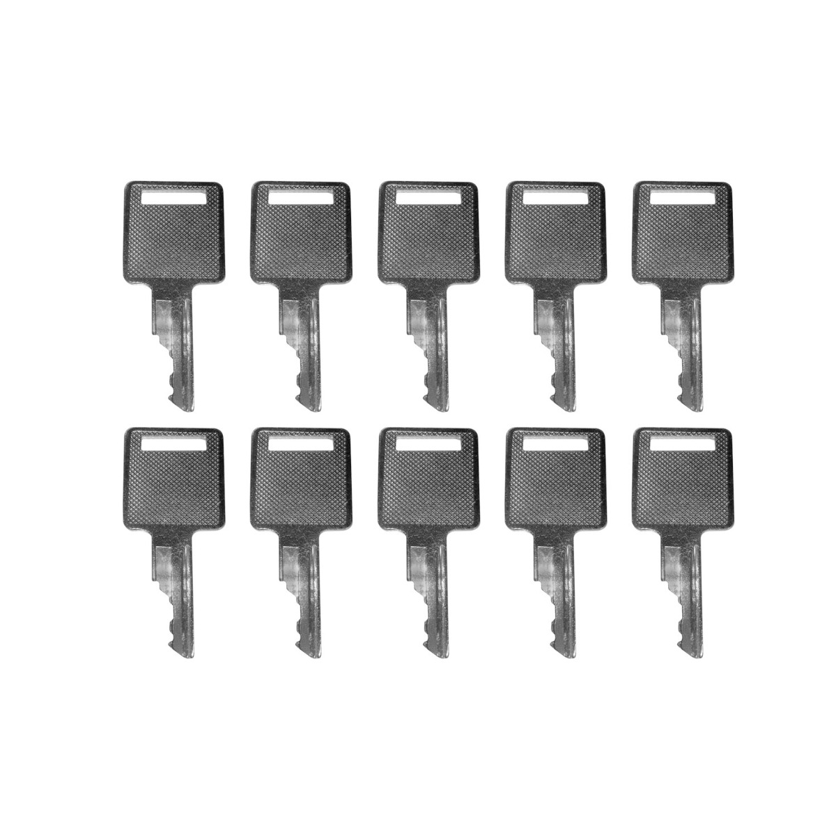 Ignition Key 6709527 10Pcs Compatible with Case Harvester 2155 2555