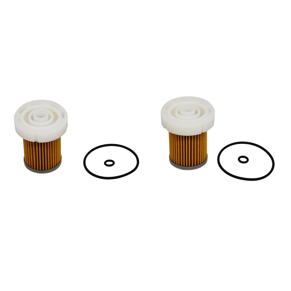 Fuel Filter 6A320-59930 2Pcs Compatible With Kubota Tractor B1410 B1610 B1710 B2110 B2110HDB B2301HSD B2320DT B2320DTN B2320DTWO B2320HSDN