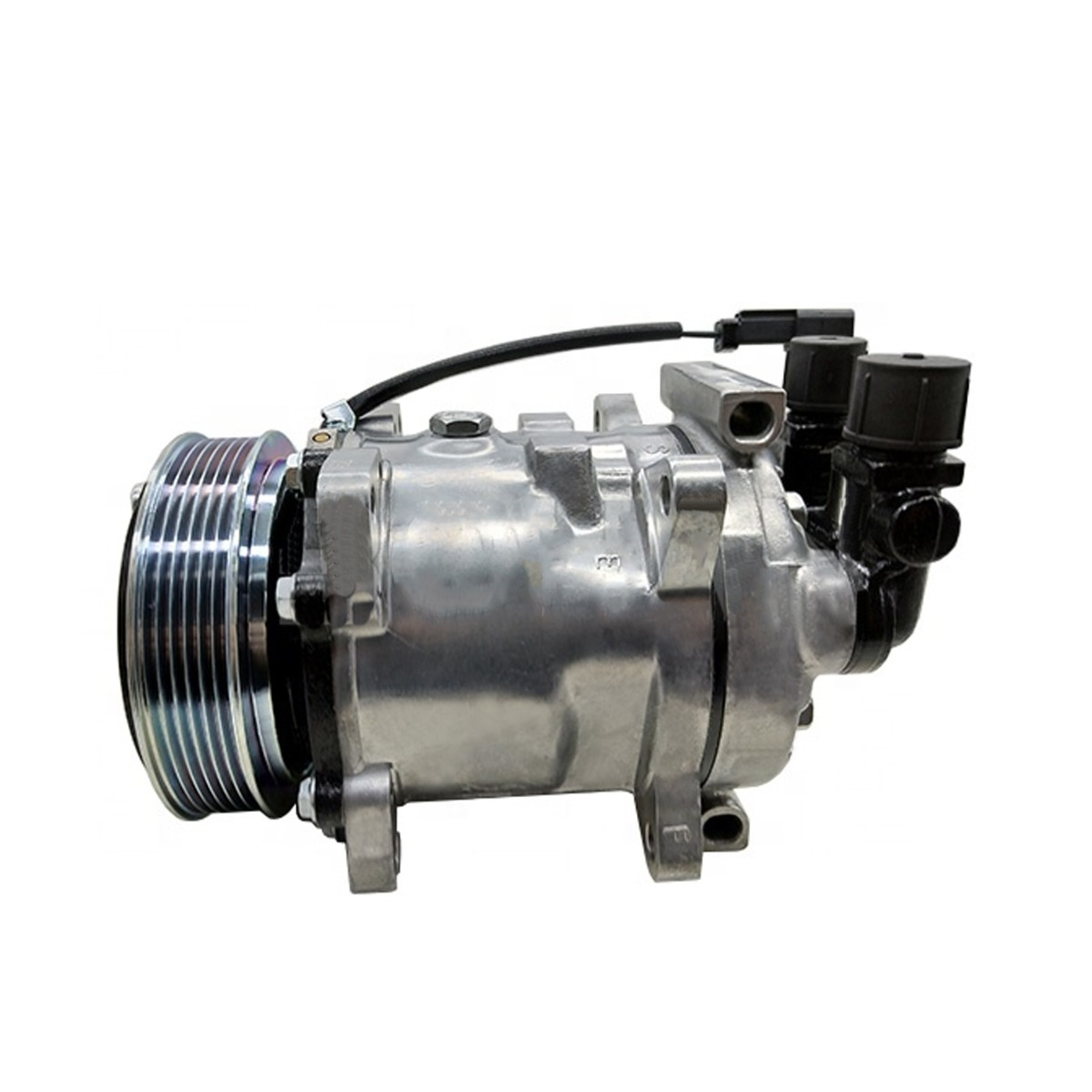 Air Conditioning Compressor 7023580 12V Compatible with Bobcat Skid Steer Loader A770 L750 S770 S850 T750 T770 T870
