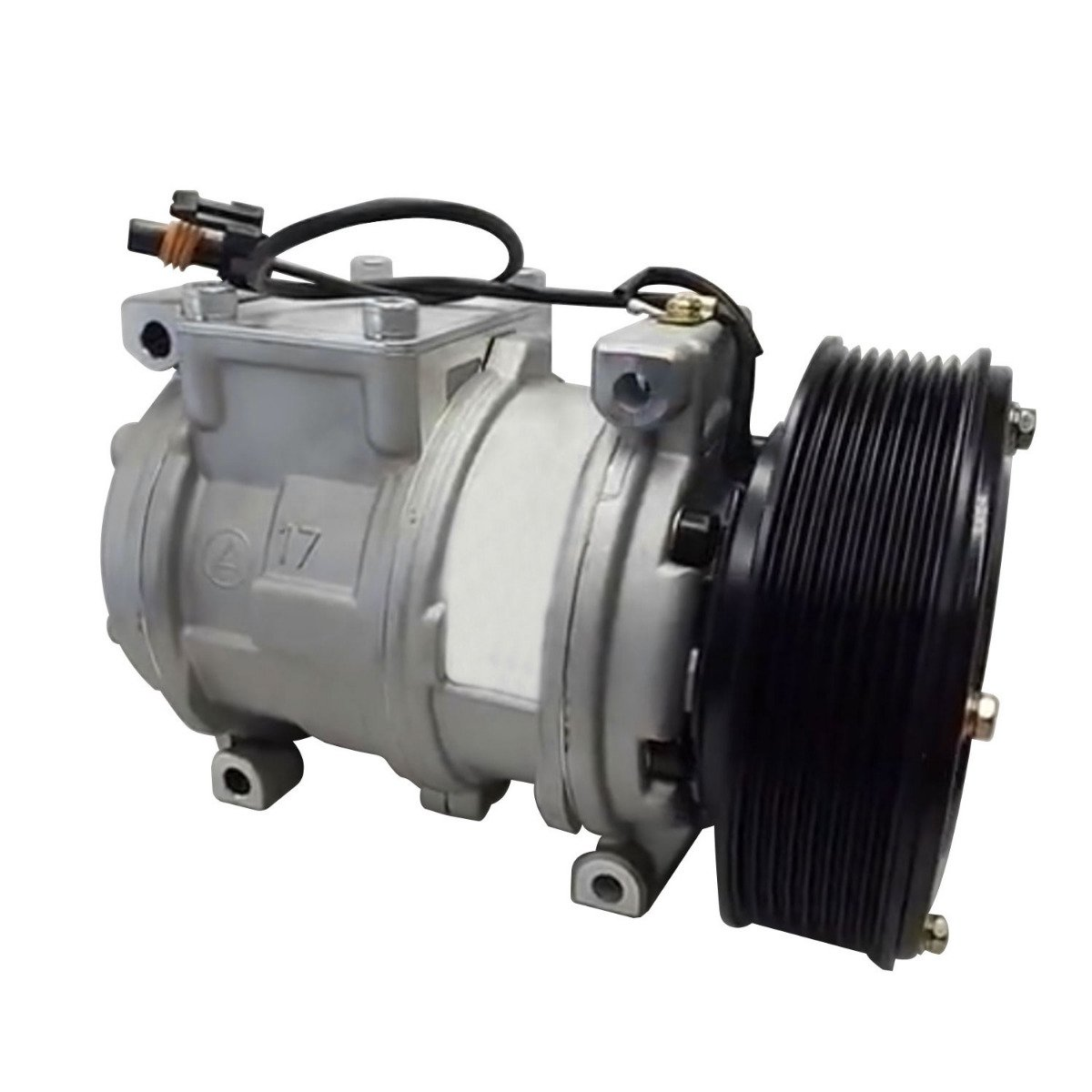 Air Conditioning Compressor AH169875 Compatible With John Deere Tractor 5085M 5095M 5105M 5410 5420N 5510 5520 5520N 6403 6603 7210 7400 7410