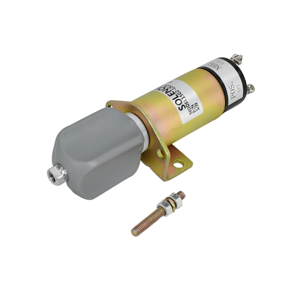 12V Shut Down Solenoid 1500-3026 Compatible With Skyjack Scissor Lift SJ600 SJ6826RT SJ6832RT SJ7027RT SJ7127RT SJ7135RT SJ800 SJ8243RT SJ8831RT SJ8841RT SJ8850RT