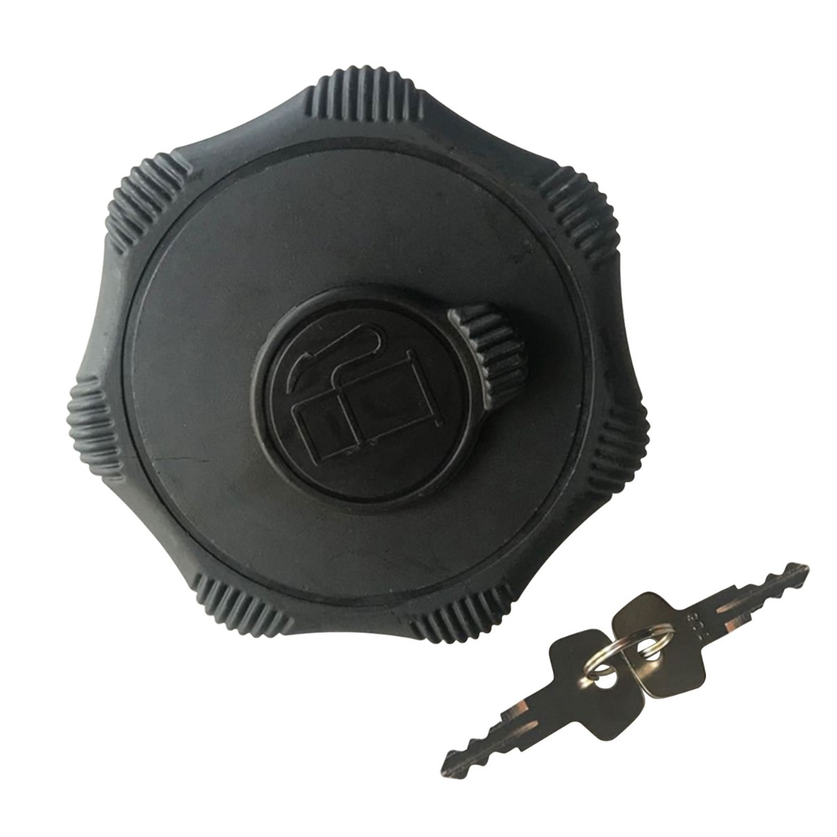 Fuel Cap Assembly With 2 keys R5511-51120 Compatible With Kubota SVL75-2 SVL75-2C SVL95-2S SVL95-2SC KX033-4 R530 R630 U55-4 KX018-4 KX040-4 KX057-4 SVL65-2 SVL75-2 SVL90-2 SVL95-2